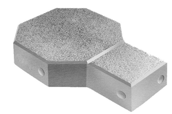Cement Grey 0.44 Square Feet Designer Pavers, For Pavement, Thickness(mm): 60 Mm