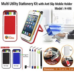7 in 1 Stationery Kit- Anti Slip Mobile Holder  H-446