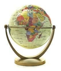 Antique Full Brass Finish World Globes