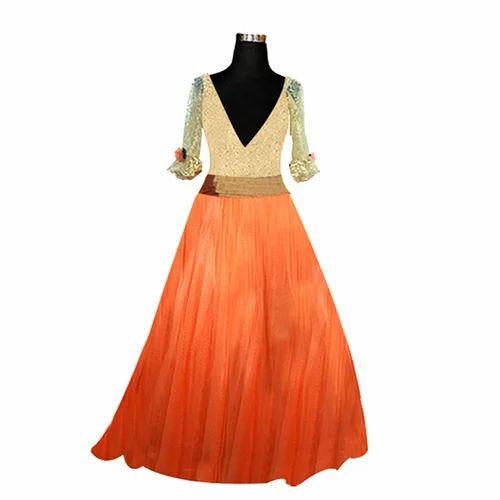 248e5f277c9 S   M   L XL   XXL Ethnic Ladies Party Wear Gowns