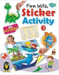 Fun With Sticker Activity 3 Book