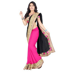 Silk Printed Ladies Fancy Saree