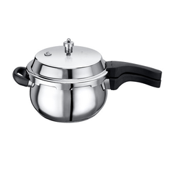 Stainless Steel Induction Handi Pressure Cooker - 3.5 ltr