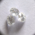 AJRETAIL 1 Carat 6.5mm SI1 Clarity j Color Lab Grown CVD Type2A Diamond