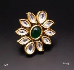 Traditional Kundan Ring