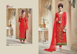 Embroider Stylish Fancy Salwar Suit