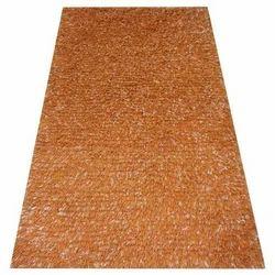 Brown Plain Shaggy Carpet