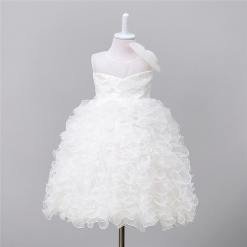 a189698332e2 Party Wear Baby White Frock