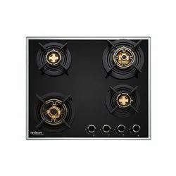 Hindware Erica 4b 60 Cm Built In HOB for Gas Stove