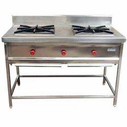 Two Burner Indian Cooking Range