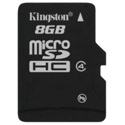 Kingston 8 Gb Memory Card, for Tablet, Memory Size: 8GB