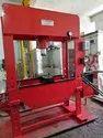 Manual & Motor Hydraulic Press Machine 100 Ton