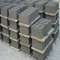 6x8x16 Inch 8 Inches Solid Block Bricks, Size: 6 In  X 8 In  X 2 In