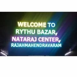 Welcome LED  Board DISPLAY
