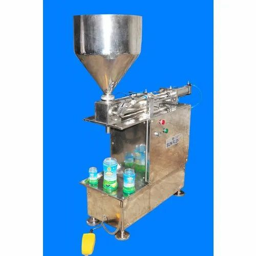 Stainless Steel Paste Filling Machine