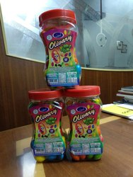 Olivary Chewing Gums, Packaging Type: Plastic Jar