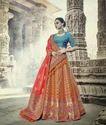 Heavy Bridal Silk Lehenga