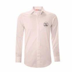 Men Beige Corporate Formal Shirt
