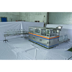 Mineral Water Jar Bottle Packaging Plant