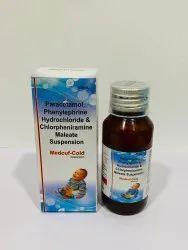 Phenylephrine Hydrochloride & Chlorpheniramine Maleate Suspension