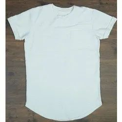 Cotton Round Boys Plain T Shirt, Packaging Type: Packet