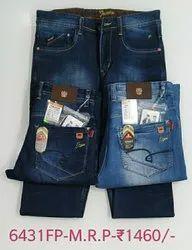 Men Comfort Fit Hanex Premium Denim Jeans