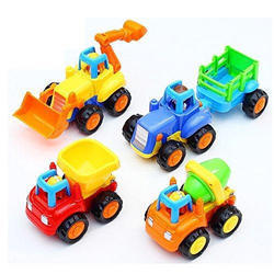 Toy Kart Plastic Unbreakable Automobile Car Toy Set