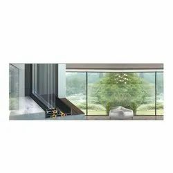 Alumil SF85 93 mm Automated Sliding Insulated Windows Door