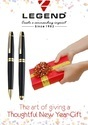 Metal Ball Pen & Roller Pen Gift Set