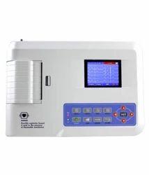 Contec ECG Machine 3 Channel, Portable, 300