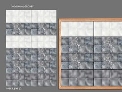 Lexomo Gloss Ceramic Tiles, Size: (30*60 cm), Thickness: 5-10 mm