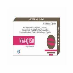 Co Enzyme Ubiquinol Lycopene Fattty Acid Astaxanthin Selenium Dioxide Ginkgo Biloba Softgel Capsule