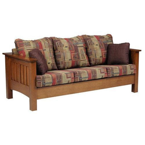 Wooden Cushion Sofa Rs 24000 Piece Saikrupa Furniture Id