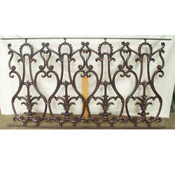 Outdoor Design Cast Iron Railing