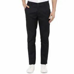 Cotton Lycra Blue Pants