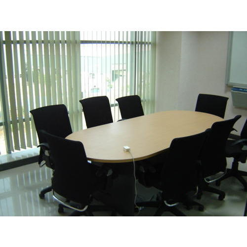 Wooden Oval Shape Conference Table Rs Unit Space Craft - Oval shaped conference table