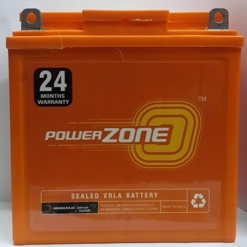 12 V Power Zone Two Wheeler Batteries, Capacity: 150ah ,Battery Type: Acid Lead Battery