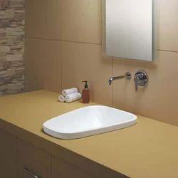 White Ceramic Designer Wash Basin