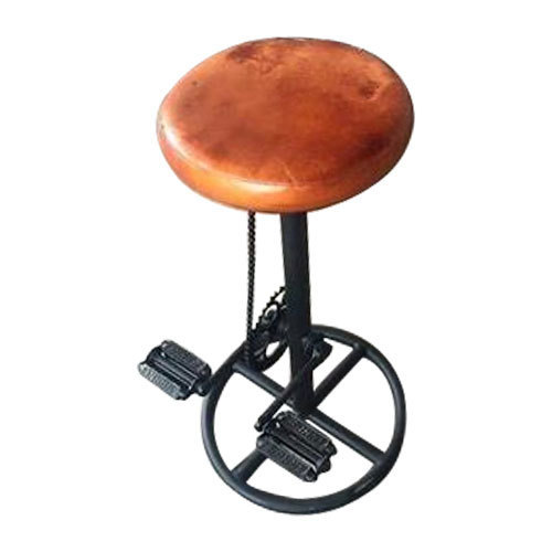 Steel And Leather Bar Upcycle Chair Stool Chair Warranty 1 Year