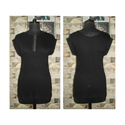 Cotton Plain Organic Party Wear Ladies Black Top