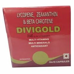 Lycopene Zeaxanthin and Beta Carotene Capsules