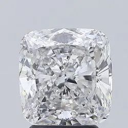 Cushion Cut 3.31ct Lab Grown Diamond CVD G SI1 IGI Certified Stone