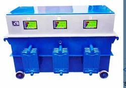 Siemens Gray Three Phase Industrial Voltage Stabilizers, 300 V. 470 V
