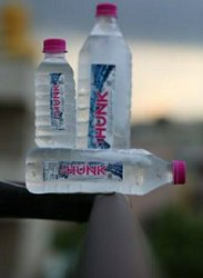 Transparent Plastic Hunk Aqua Water (500mL), Packaging Type: Bottles, Packaging Size: 500mlx24 Pieces