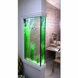Glass Corner Fish Tank