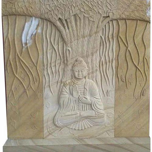 Buddha Wall Sculpture: Buddha Wall Relief Sculpture At Rs 135000 /piece