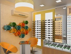 Modular Optical Showroom Display