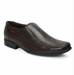 Red Chief Mens Brown Slip On Formal Shoes