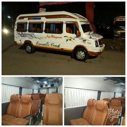 Traveller Car On Rent In Pune 12 Seater Van Rental Pune In