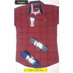Cotton Collar Neck Mens Fashion Shirt
